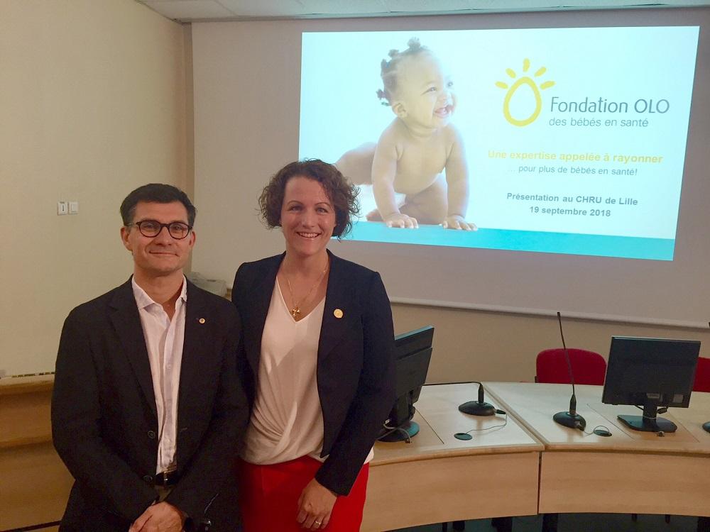 Fondation OLO à Lille : une expertise appelée à rayonner pour plus de bébés en santé!