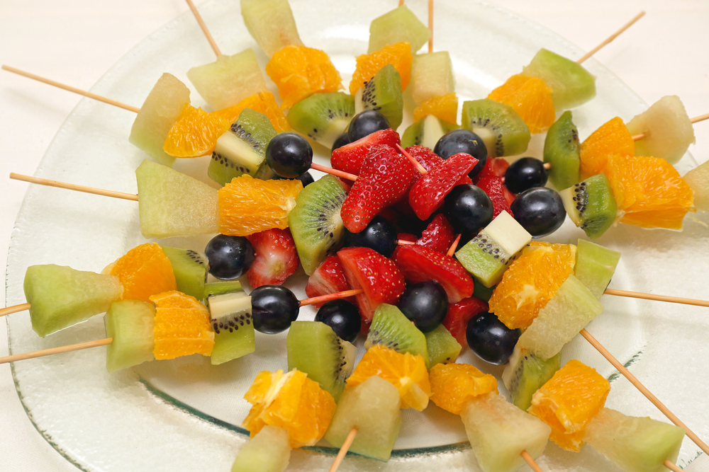 Fondation OLO | Dessert - brochette de fruits