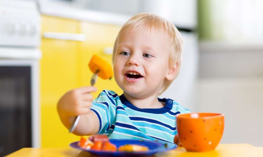 Fondation OLO | Enfant végétarien