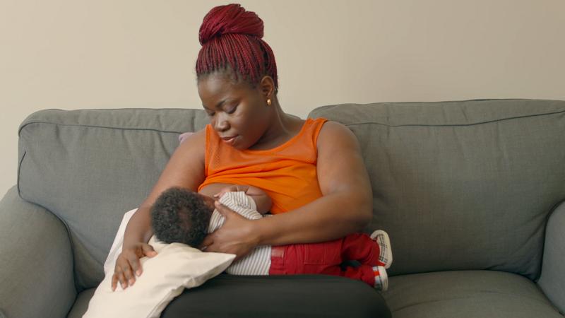 Fondation Olo | Positions d'allaitement | Madone inversée