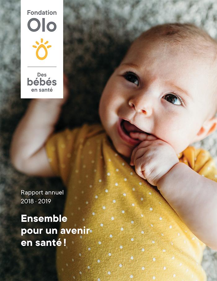 Fondation Olo | Rapport annuel 2018-2019
