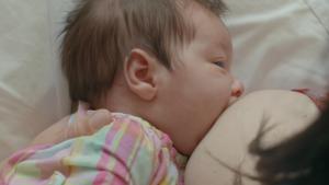 Fondation Olo | Comment faciliter la mise au sein? | Bébé a le nez décollé
