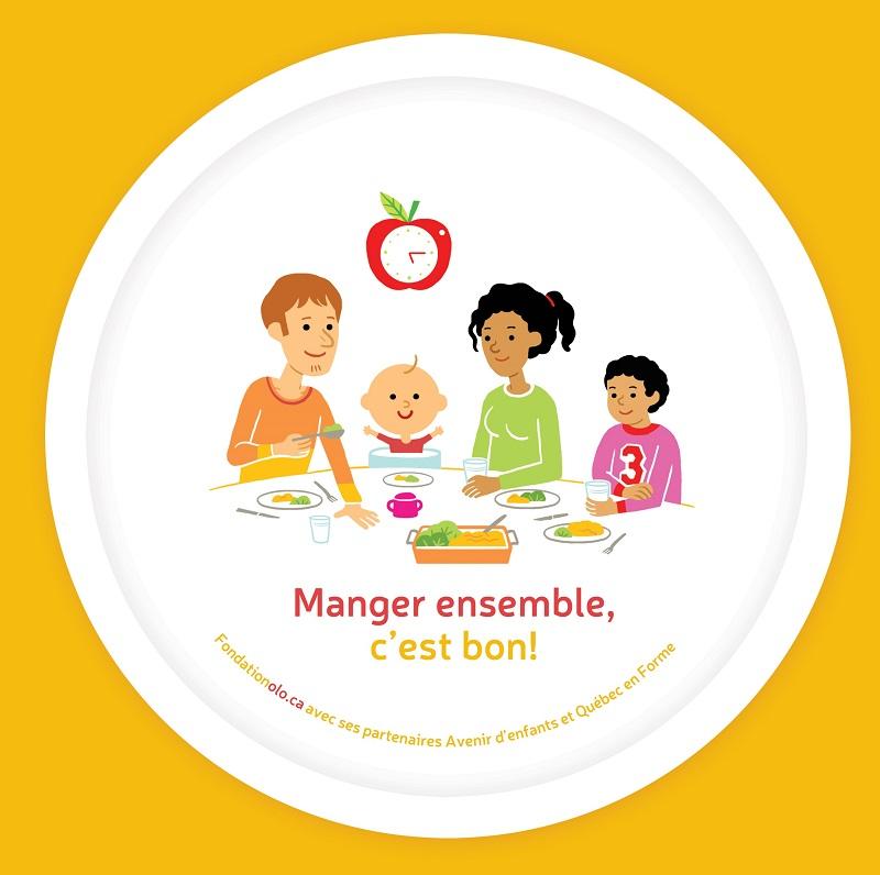 Fondation Olo | Assiette pour enfant