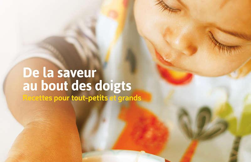"""Fondation Olo   Brochure de recettes """"De la saveur au bout des doigts"""""""