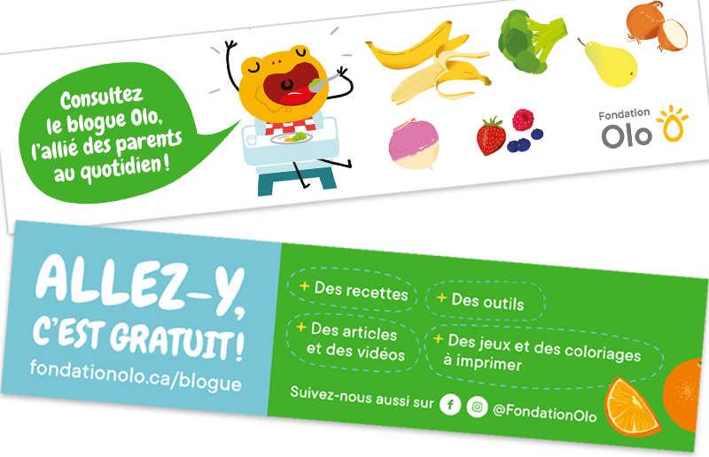 Fondation Olo   Signet promo du Blogue Olo