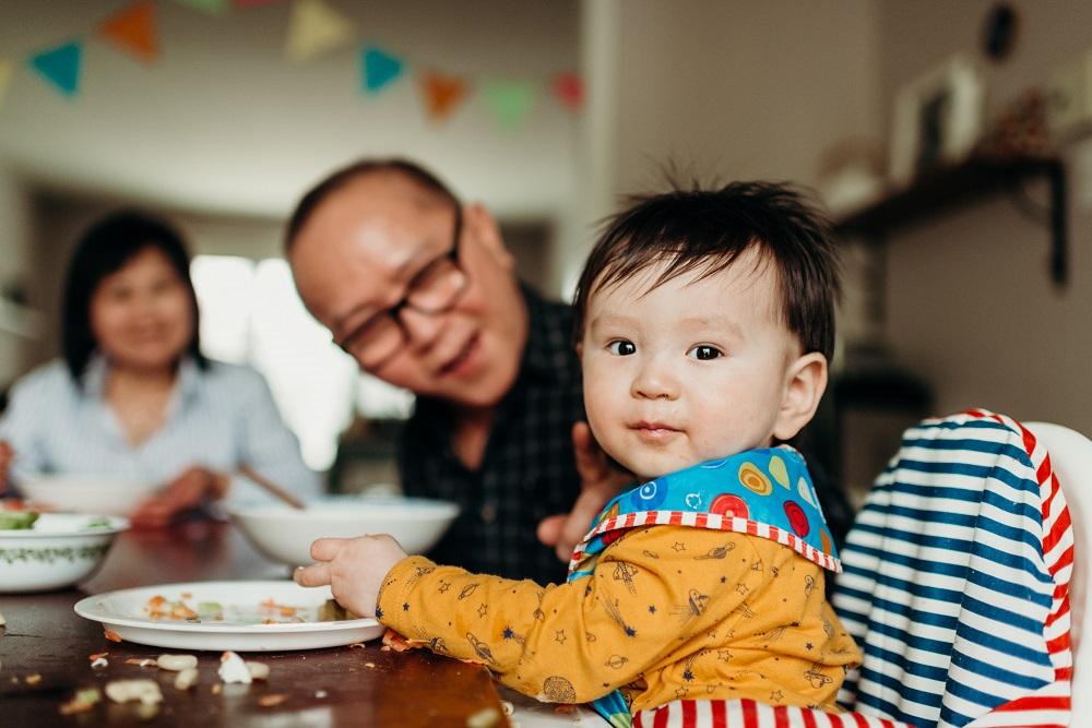 Fondation Olo | Bébé pendant les repas des Fêtes
