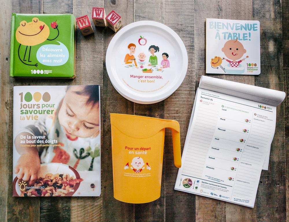 Fondation Olo | Trousse outils - 1000 jours pour savourer la vie