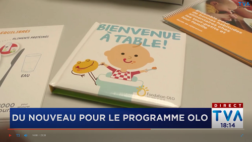 Fondation Olo | TVA | Revue de presse | 2019