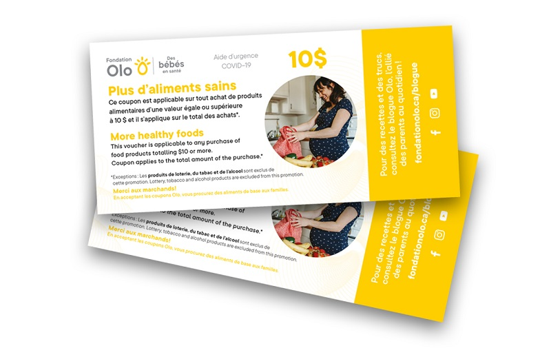 Fondation Olo | Coupons Olo