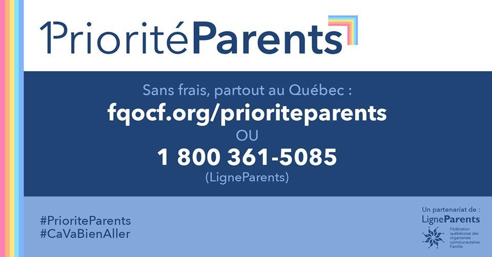 Fondation Olo | Priorité Parents | COVID-19 : Un soutien amélioré pour les parents du Québec