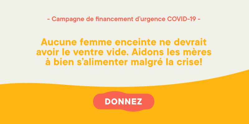 Fondation Olo | Campagne de financement d'urgence COVID-19