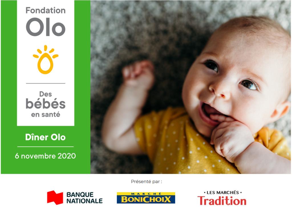 Fondation Olo | Dîner Olo 2020 | Entête