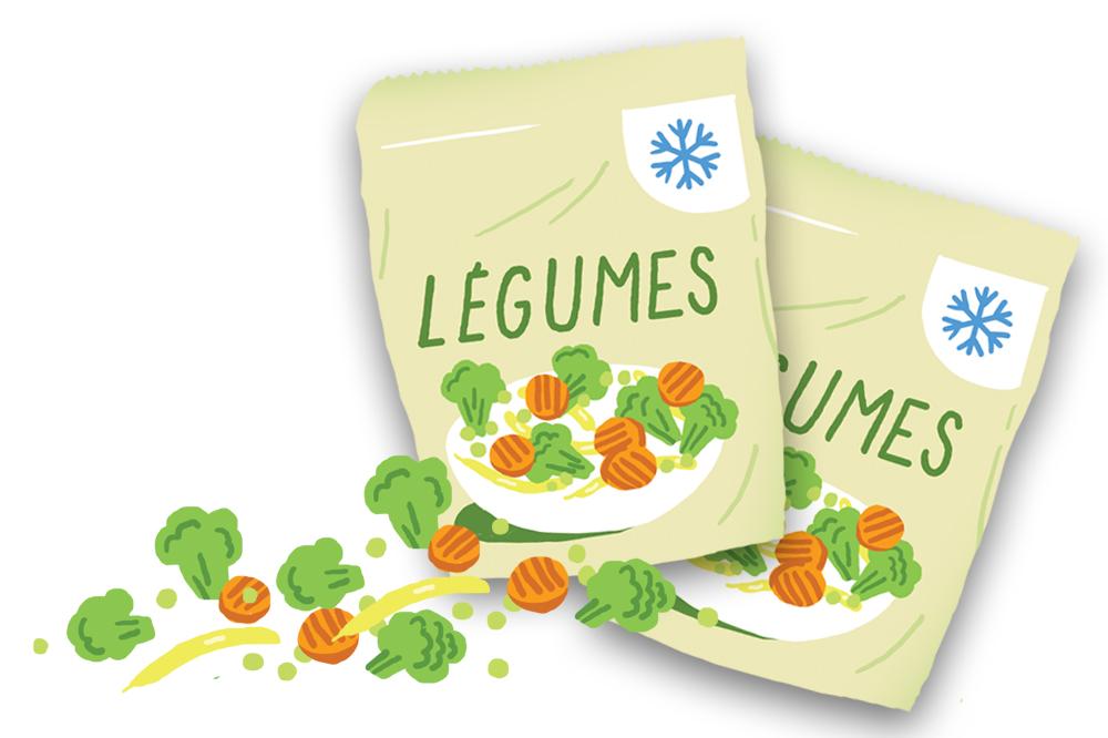 Fondation Olo | Quoi faire avec les légumes surgelés?