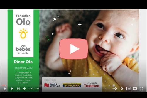 Fondation Olo | Dîner Olo | Rétrospective 2020