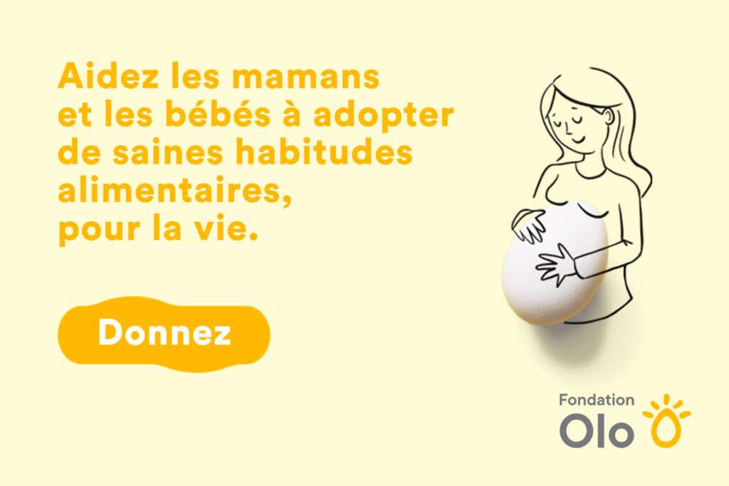 Fondation Olo : 30 ans de bébés en santé!