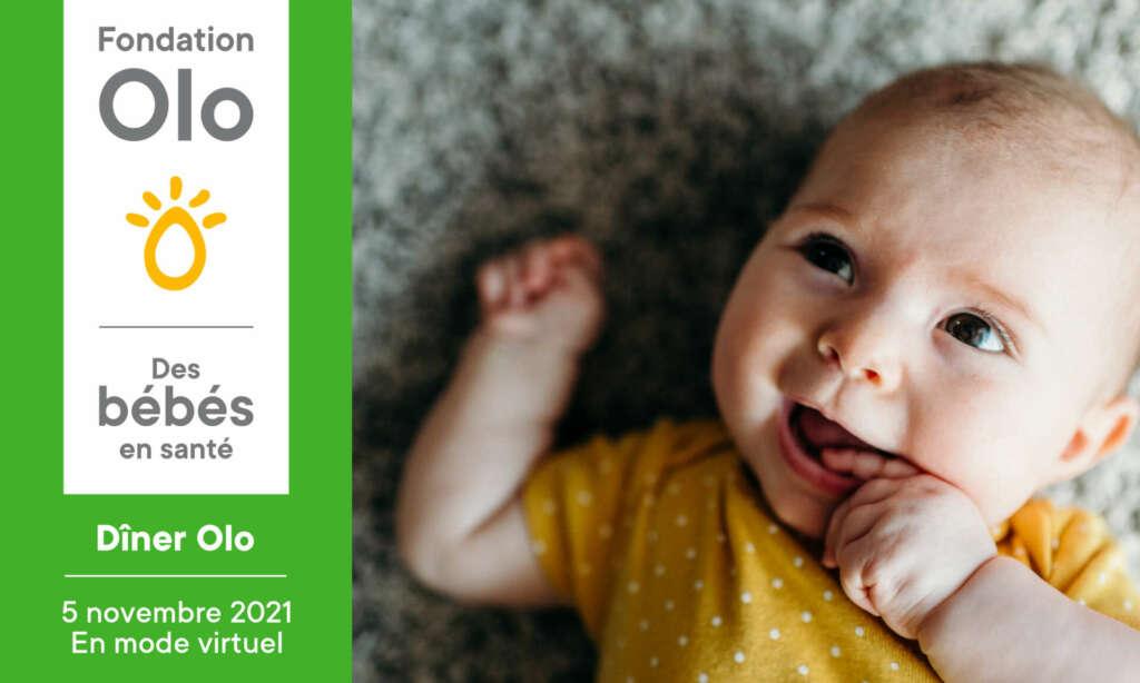 Fondation Olo | Dîner Olo 2021 | Entête