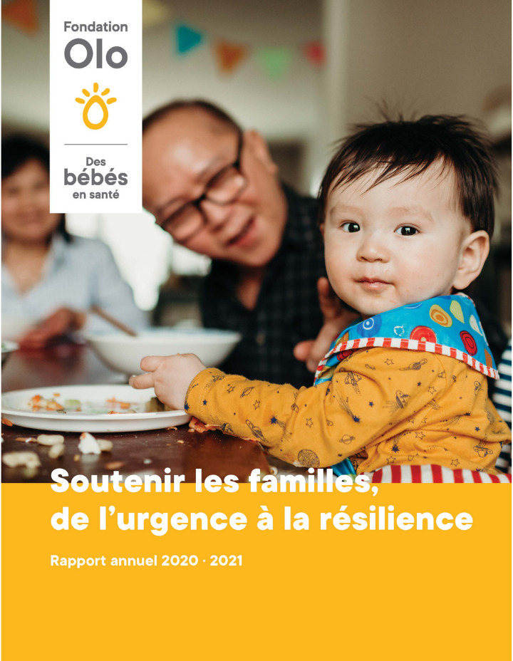 Fondation Olo | Rapport Annuel 2020-2021